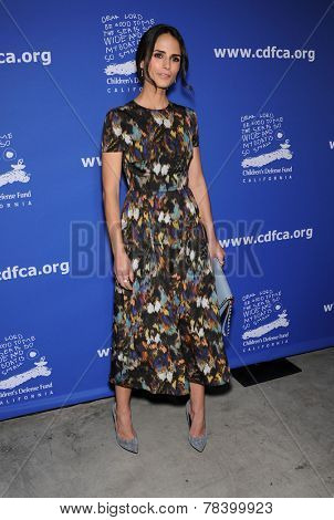 LOS ANGELES - DEC 04:  Jordana Brewster arrives to the 2014 Beat The Odds on December 04, 2014 in Culver City, CA