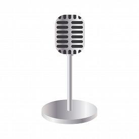 Vintage Style Microphone