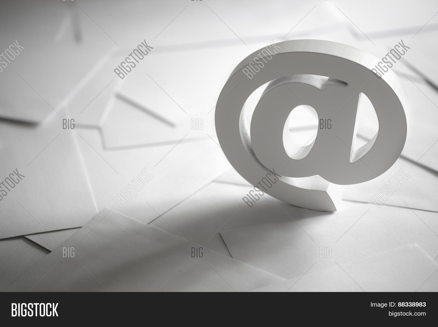 Email Symbol On Image Photo Free Trial Bigstock