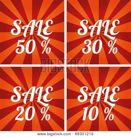 Sale design template.