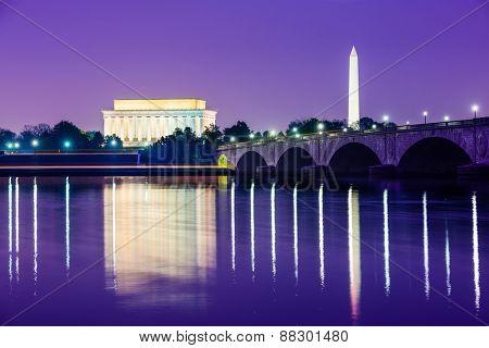 Washington, D.C. from across the Potomac River.