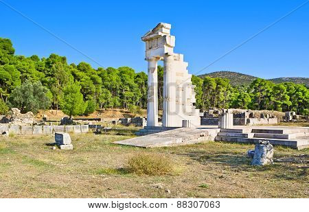 The Archeological Site Of Epidaurus