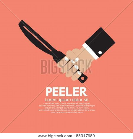 Peeler Kitchen Utensil.