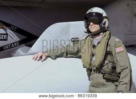 U.s. Navy Fighter Pilot
