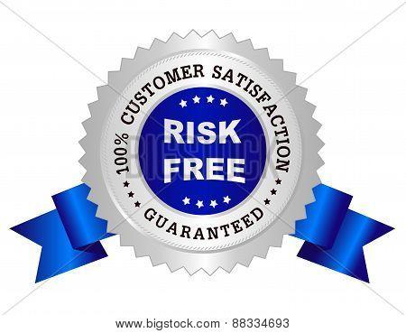 Risk Free Satisfaction Guarantee Stamp