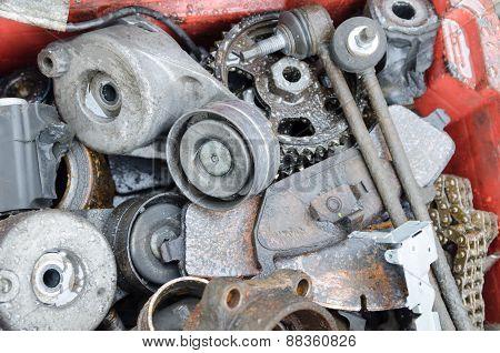 Scrap Metal, Old Car Parts