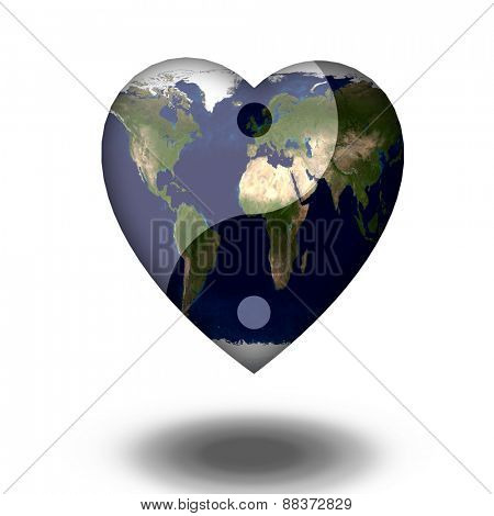 Earth Heart Yin Yang
