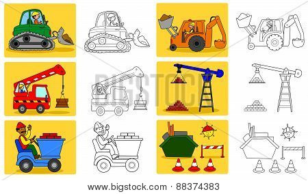 Heavy industry machineries