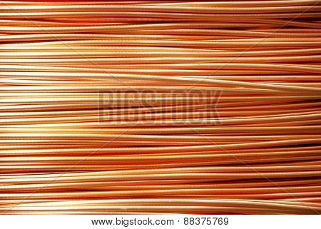 Background - Closeup of Copper Cables