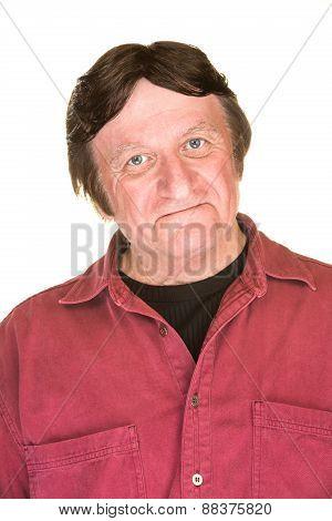 Self-satisfied Caucasian Man