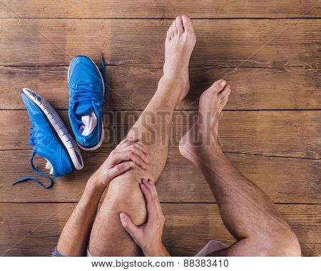 Injured runner
