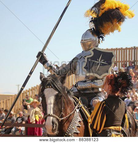 A Joust Tournament At The Arizona Renaissance Festival