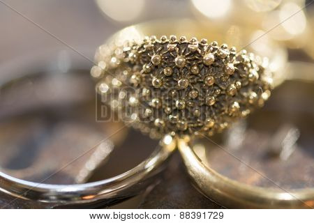 the fede sarda a wedding ring in filigree made in sardinia poster