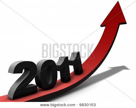 A positive view on the year 2011 poster