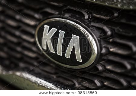 KIA Silver Logo. Founded in 1944 Kia Motors is South Korea secon