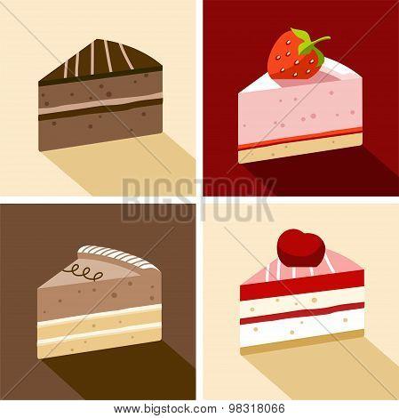 Cake, Dessert, Chocolate, Str...