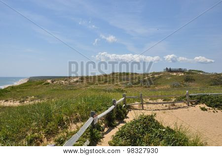 View from Marconi Point on Cape Cod