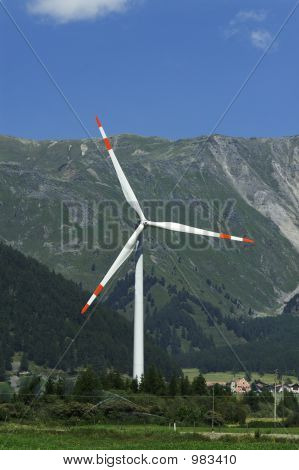 Alpine Windmill