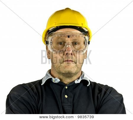 Hard Hat Goggles