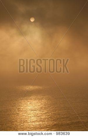 Sunset. Pacific Ocean. North California. September 2006. (#26)