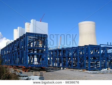New construction of power station