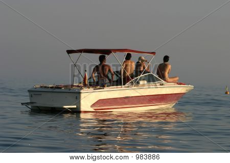 Some People In A Boat