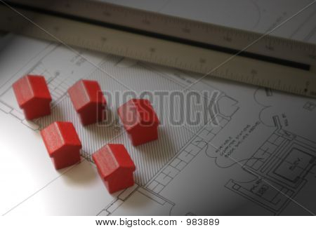 Houses On A Plan