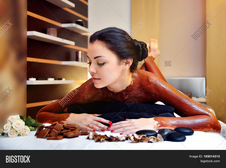Chocolate Body Image Photo Free Trial Bigstock