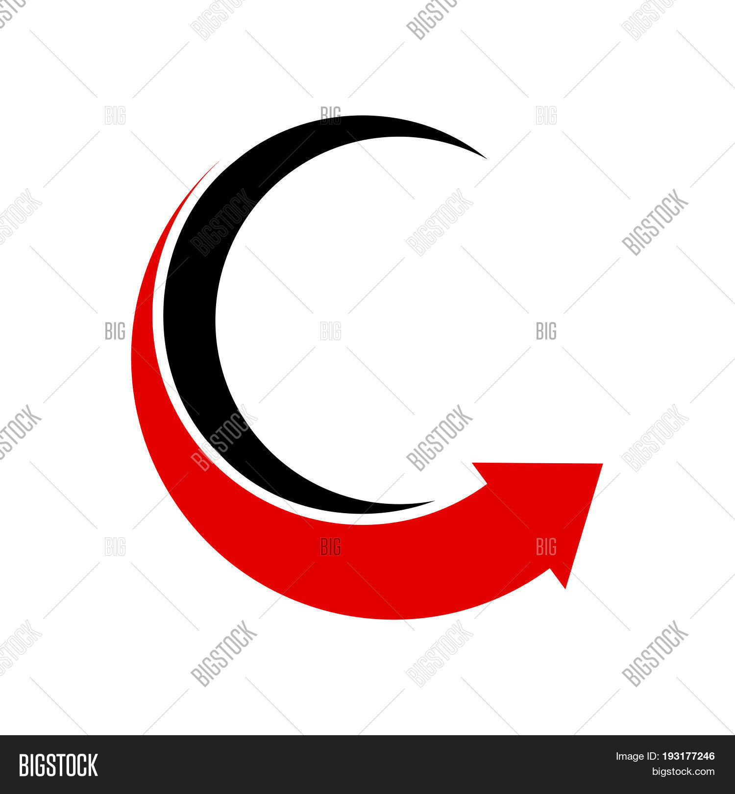 circle logo design vector photo free trial bigstock