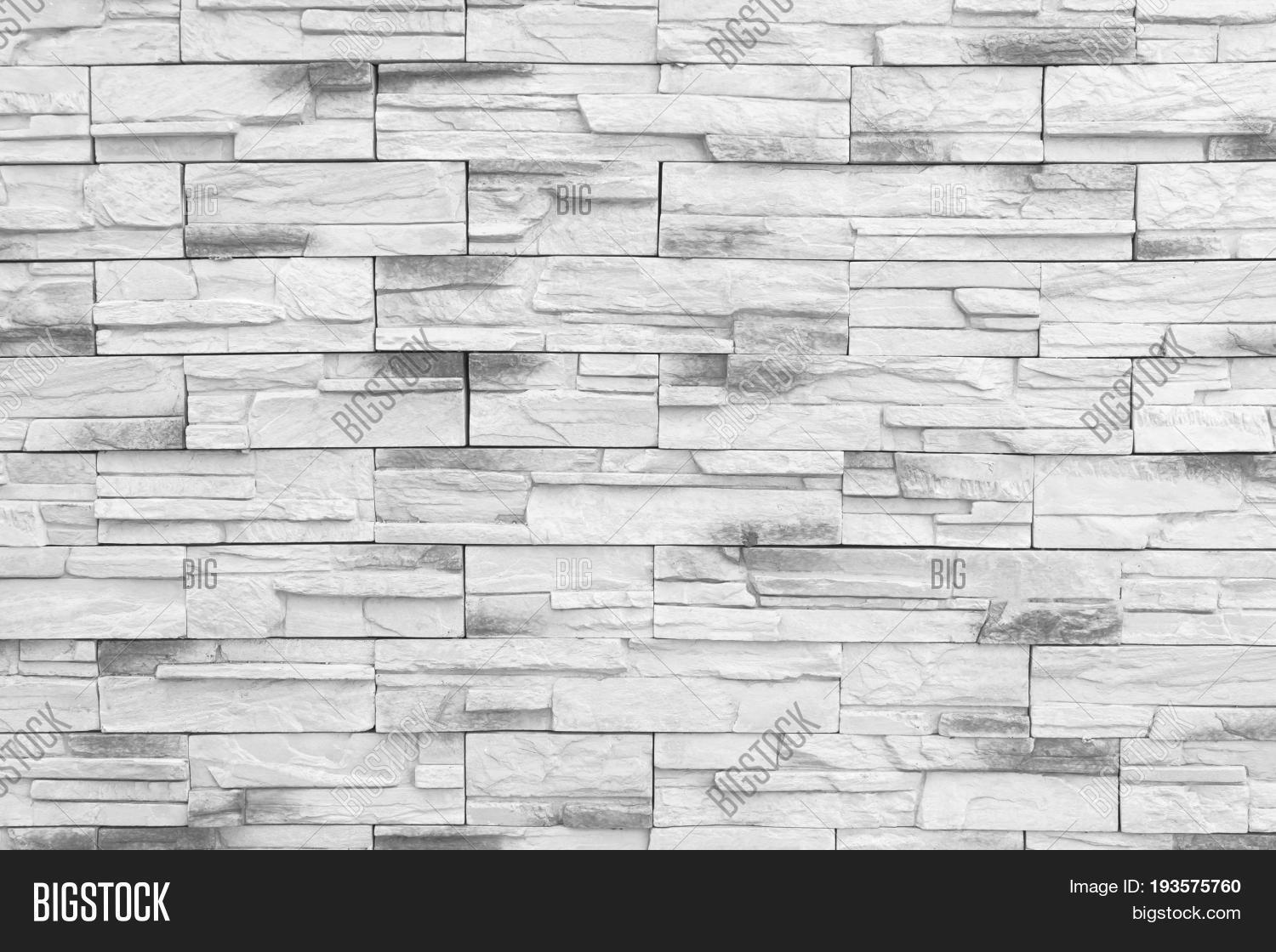 Brick Wall Background Old Gray Bricks Pattern Texture Or