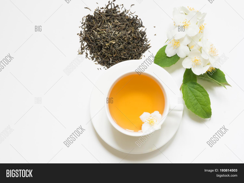 Jasmine Dry Green Tea Image Photo Free Trial Bigstock