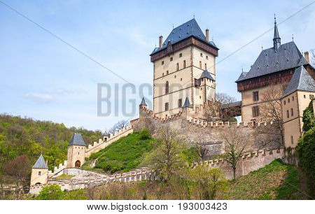 Karlstejn Castle, Founded 1348 Ce By Charles Iv
