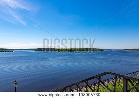 The Great Russian River Volga