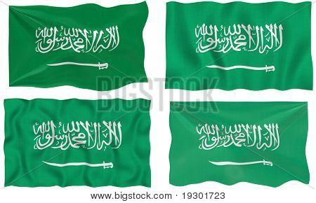 Great Image of the Flag of Saudia Arabia