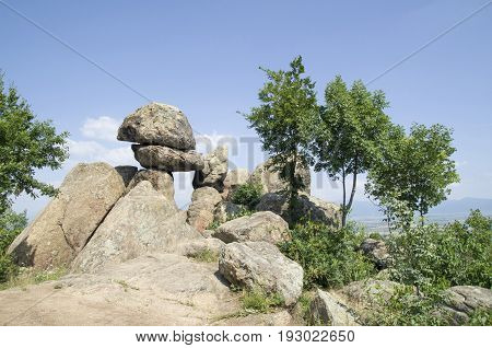 Rock megalith