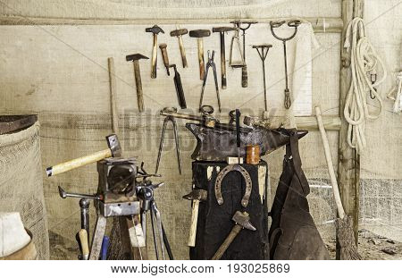Old Tools To Iron Horses