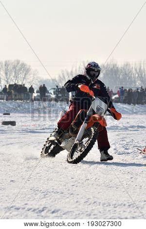 Ice Racing 2017, Januray 22, Santioana De Mures, Romania