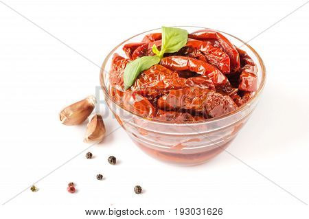 Italian Dish - Sundried Tomato With Oil And Spice