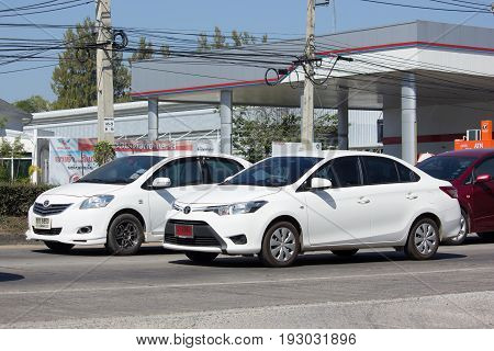 Private City Car Toyota Vios. Four Door Subcompact Sedan