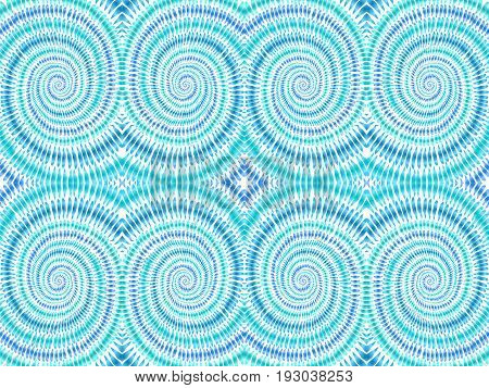 Tie dye background. Hippie style. Watercolor effect vector. Boho textile. Blue tie dye. Shibori. Editable vector made with clipping mask. Batik effect. Trendy wallpaper.