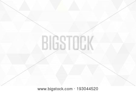 Abstract Pattern of triangular. White seamless background