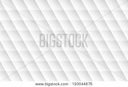 Modern white background. Vector seamless texture with shadow