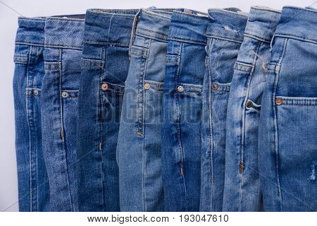 blue denim pants trousers