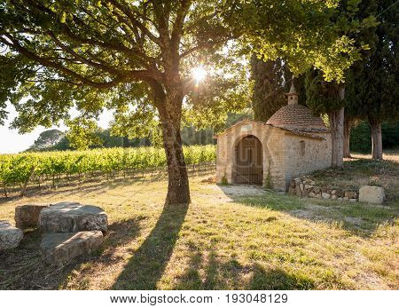 The small chapel called