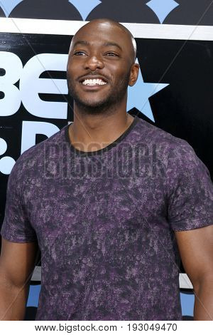 LOS ANGELES - JUN 25:  BJ Britt at the BET Awards 2017 at the Microsoft Theater on June 25, 2017 in Los Angeles, CA