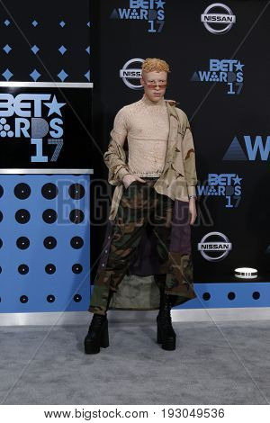 LOS ANGELES - JUN 25:  Shaun Ross at the BET Awards 2017 at the Microsoft Theater on June 25, 2017 in Los Angeles, CA