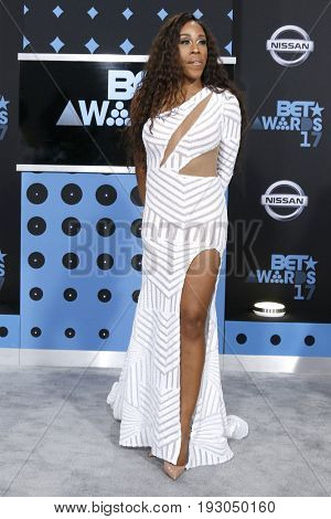 LOS ANGELES - JUN 25:  Dianna Williams at the BET Awards 2017 at the Microsoft Theater on June 25, 2017 in Los Angeles, CA
