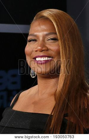 LOS ANGELES - JUN 25:  Queen Latifah at the BET Awards 2017 at the Microsoft Theater on June 25, 2017 in Los Angeles, CA
