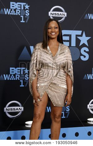 LOS ANGELES - JUN 25:  Garcelle Beauvais at the BET Awards 2017 at the Microsoft Theater on June 25, 2017 in Los Angeles, CA