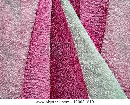 Microfiber towels set.